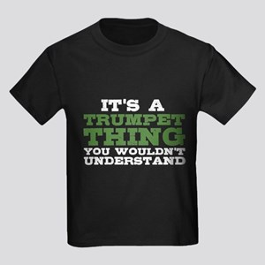 It's a Trumpet Thing Kids Dark T-Shirt