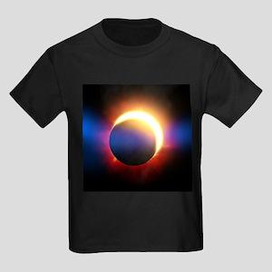 Solar Eclipse Kids Dark T-Shirt