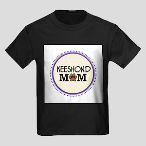 Keeshond Dog Mom T-Shirt