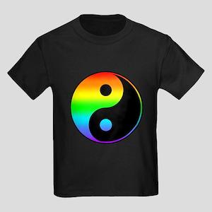 Rainbow Yin Yang Symbol T-Shirt