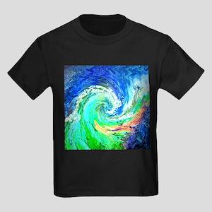 Waves Kids Dark T-Shirt