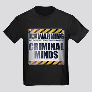 Warning: Criminal Minds Kids Dark T-Shirt