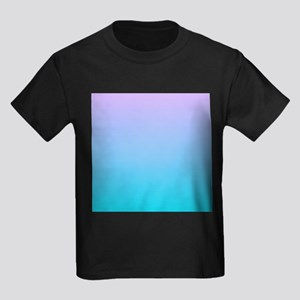 purple turquoise ombre T-Shirt
