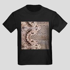 rustic wood lace T-Shirt