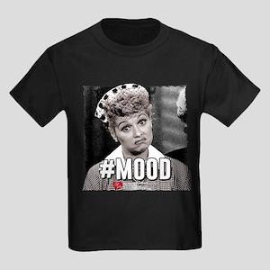 I Love Lucy #Mood Kids Dark T-Shirt