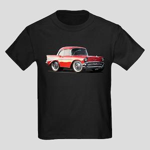 BabyAmericanMuscleCar_57BelR_Xmas_Red T-Shirt