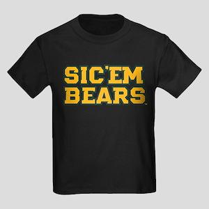 Baylor University Sic 'Em Bears Kids Dark T-Shirt
