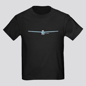 66 Thunderbird Emblem Kids Dark T-Shirt