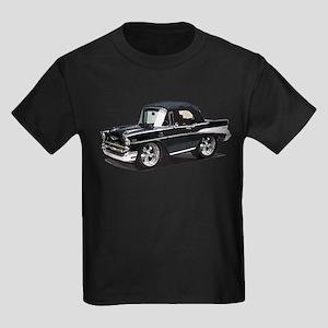 BabyAmericanMuscleCar_57BelR_Black T-Shirt