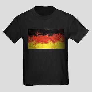 Artsy German Flag Kids Dark T-Shirt