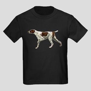 german shorthair pointing Kids Dark T-Shirt