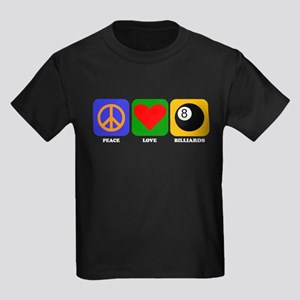 Peace Love Billiards T-Shirt