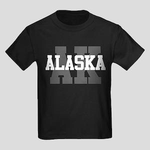 AK Alaska Kids Dark T-Shirt