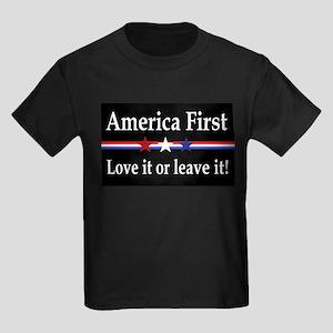 Love it or leave it Kids Dark T-Shirt