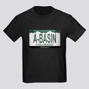 A-Basin Plate Kids Dark T-Shirt