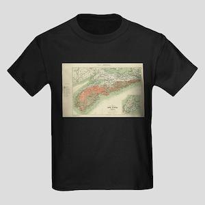 Vintage Geological Map of Nova Scotia (190 T-Shirt