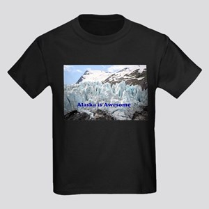 Alaska is Awesome: Portage Glacier, USA Kids Dark