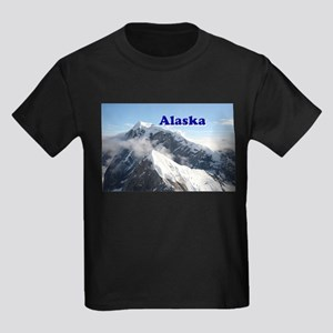 Alaska: Alaska Range, USA Kids Dark T-Shirt