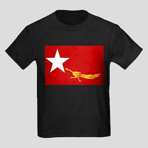 Free Burma Coalition Kids Dark T-Shirt
