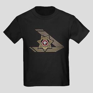 Sheriff San Bernardino Kids Dark T-Shirt