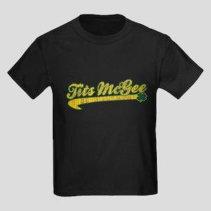 Tits McGee Kids Dark T-Shirt