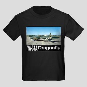 A-37 Dragonfly Kids Dark T-Shirt