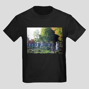 Korean war memorial Kids Dark T-Shirt