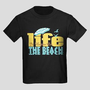 Life's Better Beach Kids Dark T-Shirt