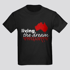 Living the Dream Kids Dark T-Shirt