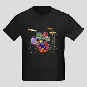 Wild Drums Kids Dark T-Shirt