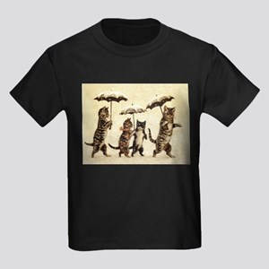 Cats, Vintage Painting T-Shirt