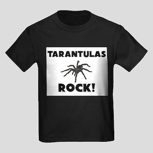 Tarantulas Rock! Kids Dark T-Shirt