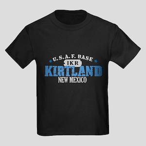 Kirtland Air Force Base Kids Dark T-Shirt