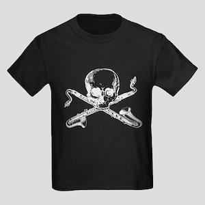 Bass Clarinet - Basset Horn S Kids Dark T-Shirt