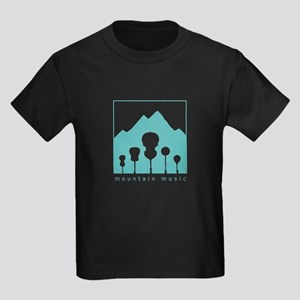 Mountain Music Kids Dark T-Shirt