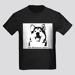 The Malamute Smile Kids Dark T-Shirt