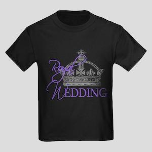 Royal Wedding London England Kids Dark T-Shirt