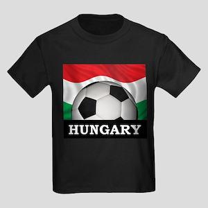 Hungary Football Kids Dark T-Shirt
