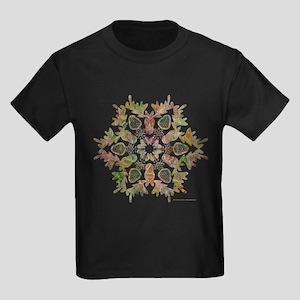 Moose Snowflake Kids Dark T-Shirt