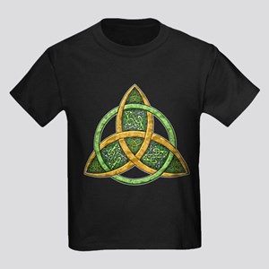 Celtic Trinity Knot Kids Dark T-Shirt