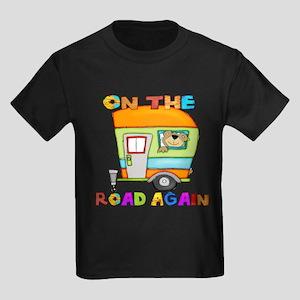 On the road again Kids Dark T-Shirt