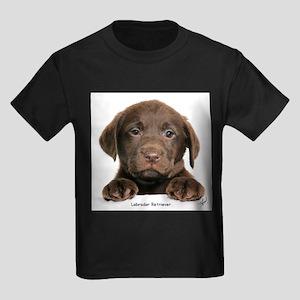 Chocolate Labrador Retriever puppy 9Y270D-050 T-Sh