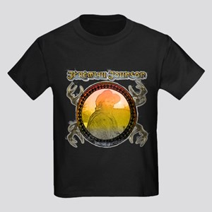 "Liver eating Johnson "" Jeremi Kids Dark T-Shirt"