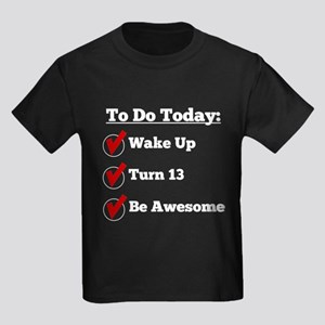 13th Birthday Checklist T-Shirt