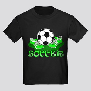 Soccer (Green) Kids Light T-Shirt