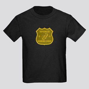 Tap Dancer Drinking League Kids Dark T-Shirt