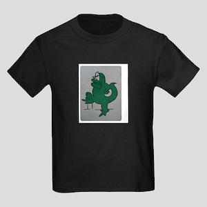 El lagartijo verde Kids Dark T-Shirt