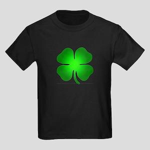Four Leaf Clover Kids Dark T-Shirt