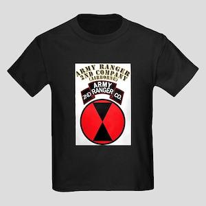 SOF - Army Ranger - 2nd Company Kids Dark T-Shirt
