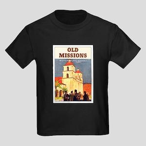 Mission Santa Barbara Kids Dark T-Shirt